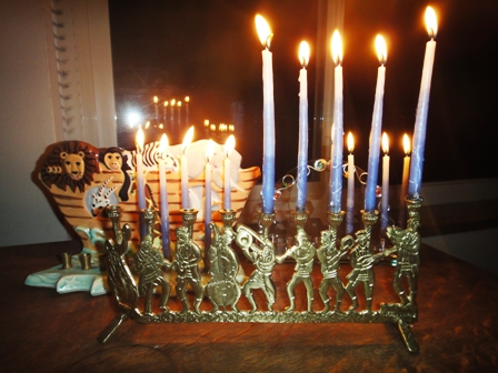 4th night chanukah