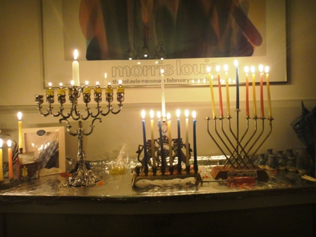 7th night of Chanukah