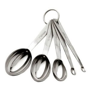 Stainless Steel Odd Sized Measuring Spoons