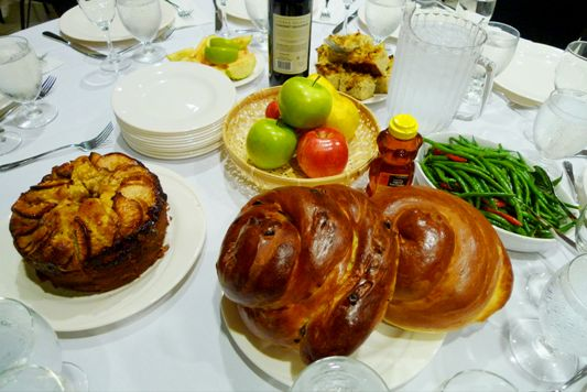 Rosh Hashana Table