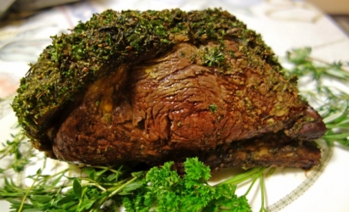Herb Crusted Rib Roast | Kosher Recipes