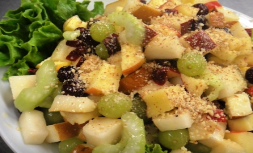 Tu B'Shevat Salad With Pomegranate Dressing Recipe — Dishmaps