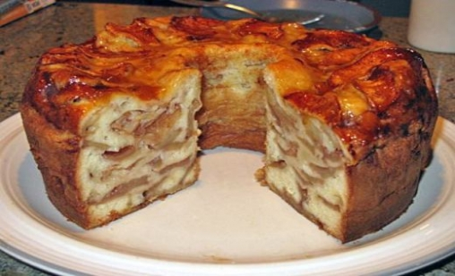 Light Apple Cake Recipe